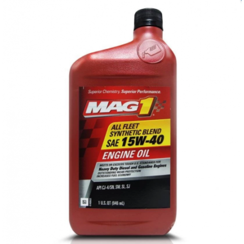 MAG1 Synthetic Blend - For Diesel Engines 15W-40 946ml