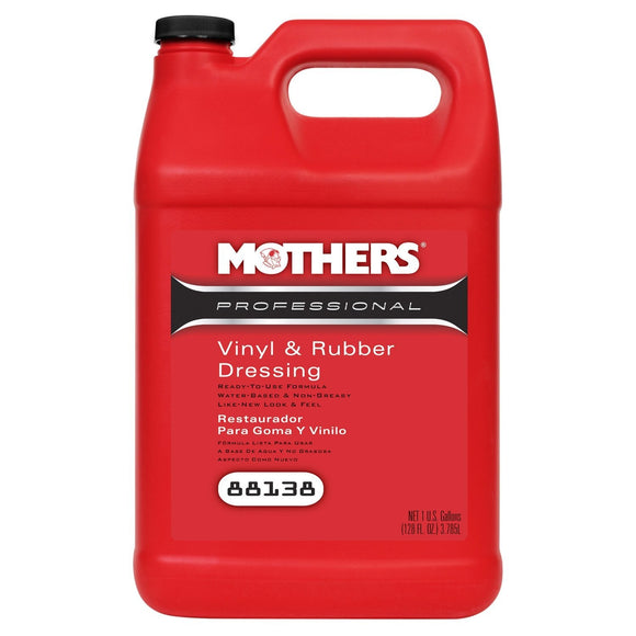 MOTHERS Professional Vinyl & Rubber Dressing 1Gal.