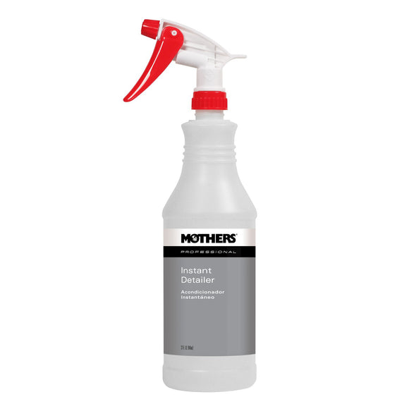 MOTHERS Professional Instant Detailer Sprayer/Bottle