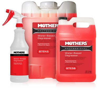 MOTHERS Professional Water Based Degreaser 1gal.