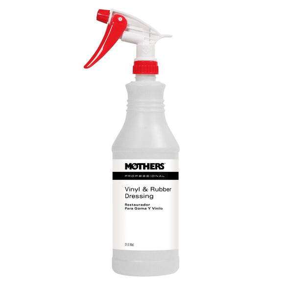 MOTHERS Professional Vinyl & Rubber Cleaner Sprayer/Bottle