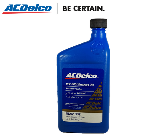 ACDelco Dex-Cool Coolant Concentrate (Orange) 1 Liter