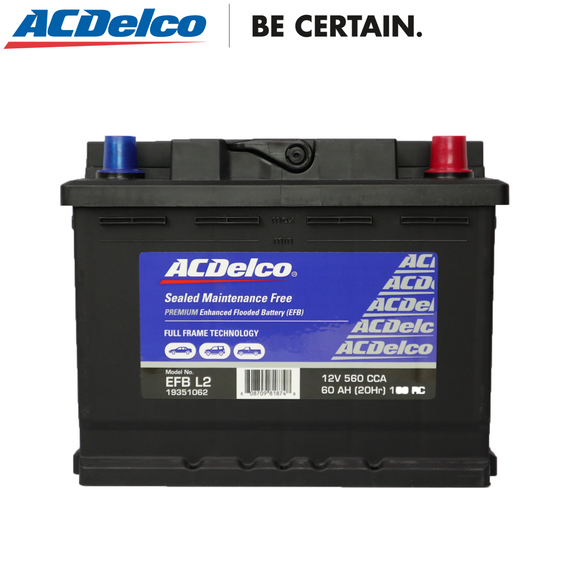 ACDelco EFB L2  Car Battery