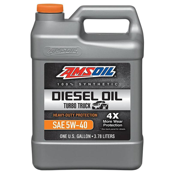 AMSOIL Heavy Duty Diesel Oil 5W-40 CK4 Engine Oil