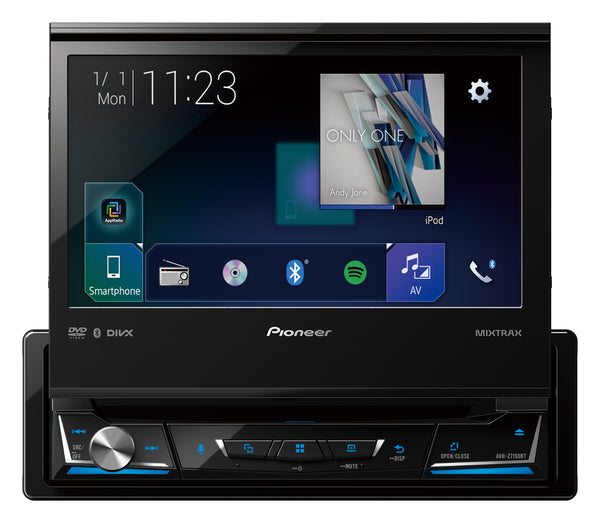 "Pioneer AVH-Z7150BT 7"" 1DIN AV Receiver with CarPlay, Android Auto, Bluetooth & ARM+"