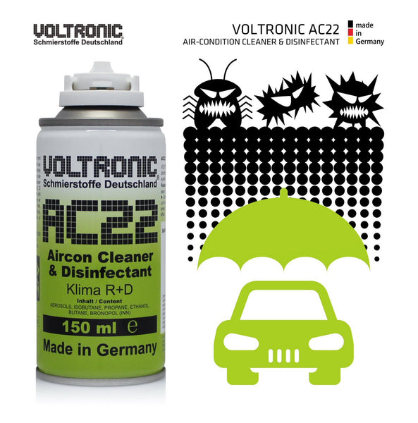 VOLTRONIC ® AC22 Air-condition Cleaner and Disinfectant