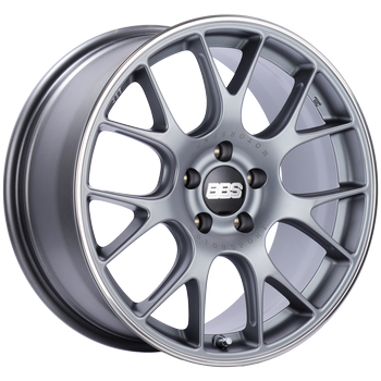 BBS WHEELS (GERMANY) SATIN TITANIUM WITH RIM PROTECTOR 9.0 x 19 (CH-R)
