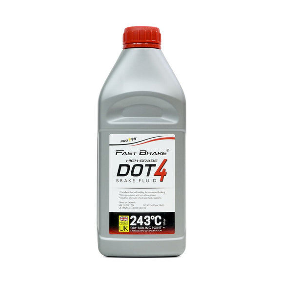 PRO-99 Fast Brake High-Grade DOT-4 Brake Fluid (1L)