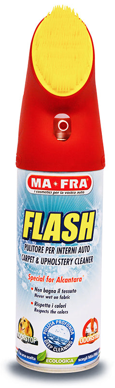 MA-FRA Flash Fabric Cleaner Aerosol with Brush