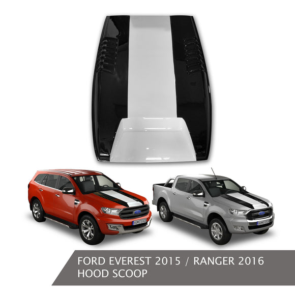 FORD EVEREST 2015 HIPPO HOOD SCOOP