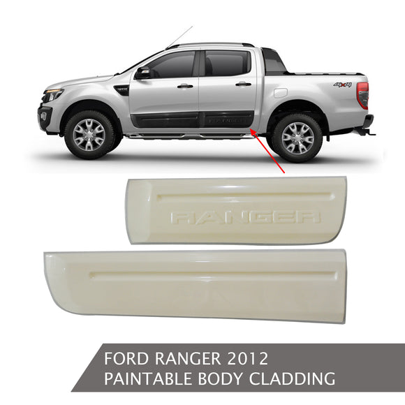 FORD RANGER PAINTABLE BODY CLADDING