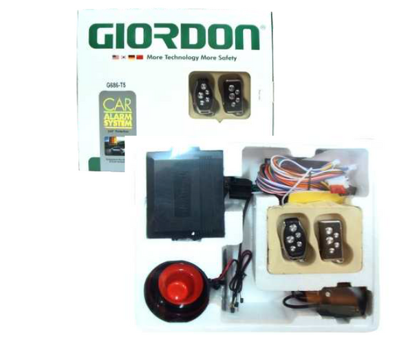 GIORDON Car Alarm with Trunk Release Special