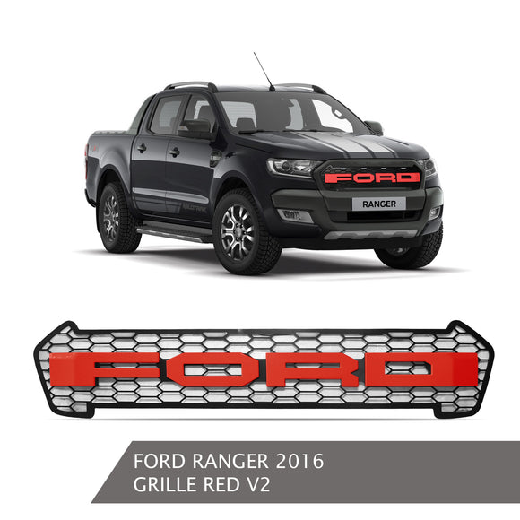 FORD RANGER GRILLE RED