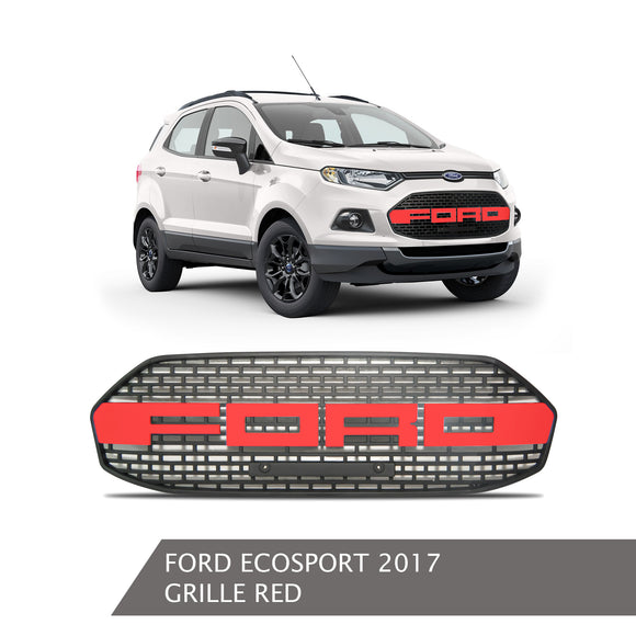 FORD ECOSPORT GRILLE RED