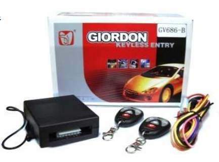 GIORDON Keyless Entry w/ Remote Learning Code