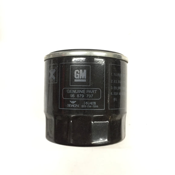 GENUINE Oil Filter 96879797 OPTRA (PHOTO OF ACTUAL ITEM)