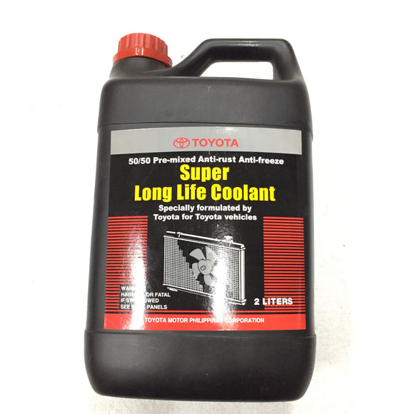 TOYOTA OEM Super Long Life Coolant 2L 08889-80071 (PHOTO OF ACTUAL ITEM)