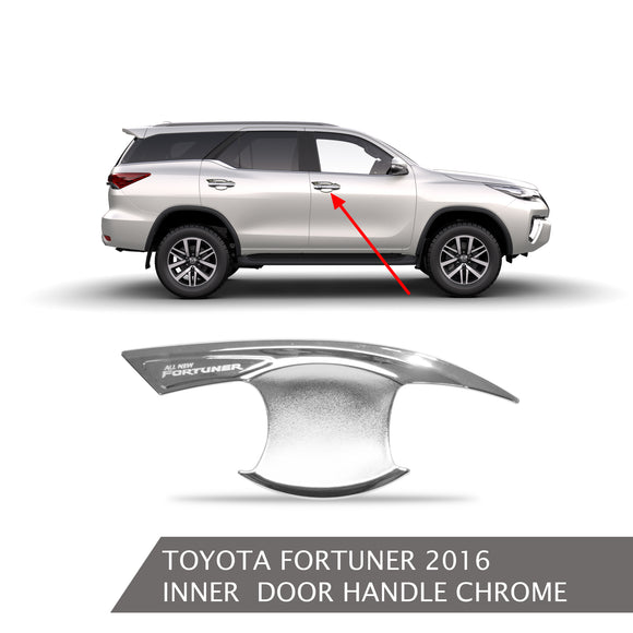 TOYOTA FORTUNER DOOR HANDLE INNER CHROME