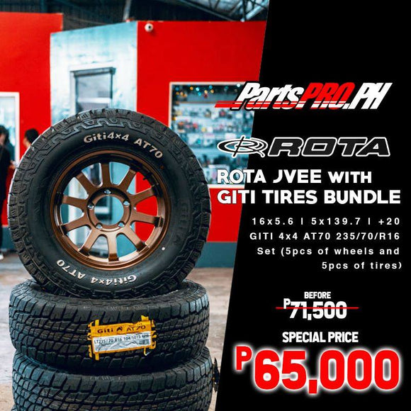 ROTA JVEE with Giti AT70 Bundle for All-New Suzuki Jimny