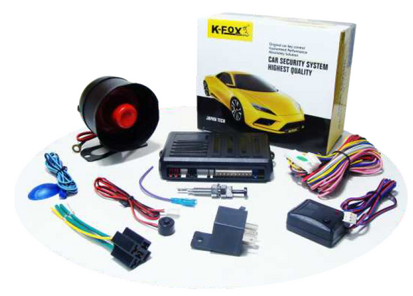 K-FOX Car Alarm