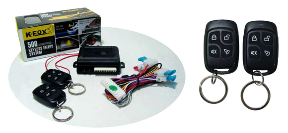 K-FOX Keyless Entry System