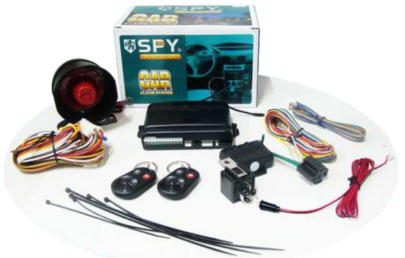 SPY Car Alarm & Safety Car Alarm
