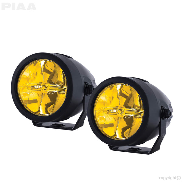 "PIAA LED Sport Lamps LP270 2.75"" 2500K Ion Yellow Fog"