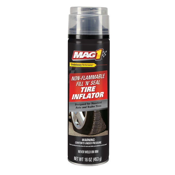 MAG 1 Fill & Seal Non-Flammable  Tire Inflator w/ Airhose