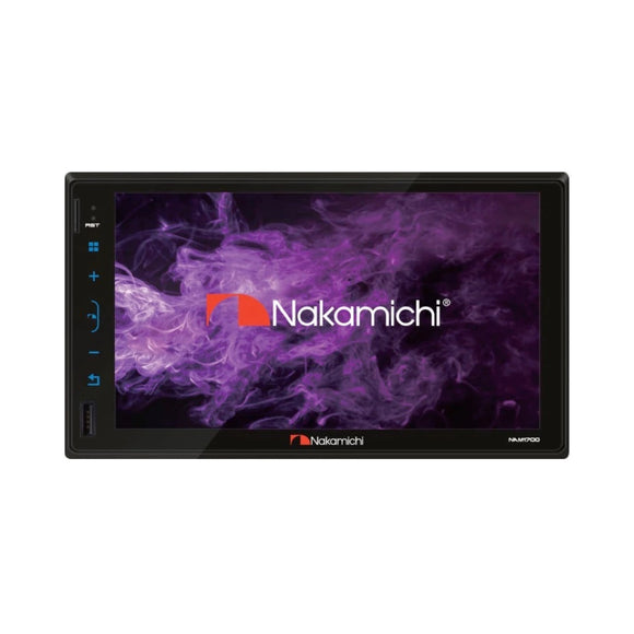 "Nakamichi NAM-1700 2DIN 7"" Touch Panel Without CD/DVD"