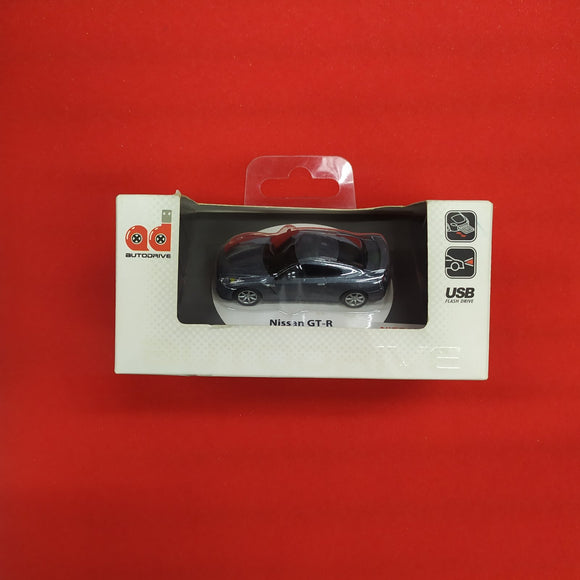 AUTODRIVE USB FLASH DRIVE NISSAN GT-R GREY 8GB