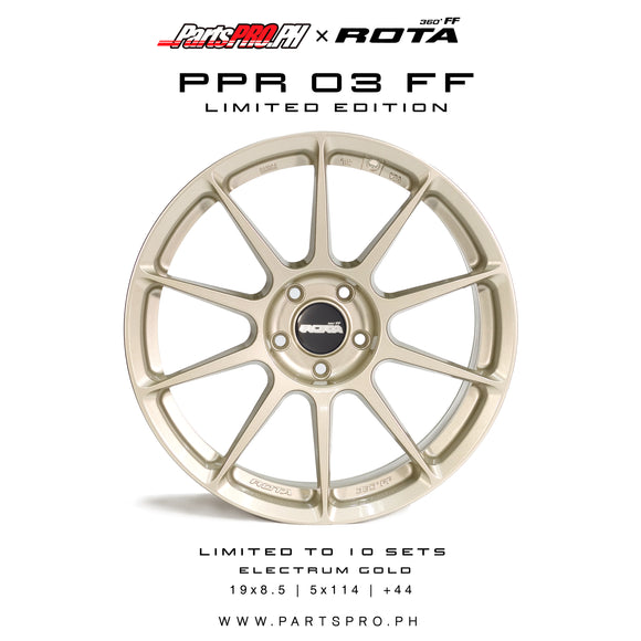 PartsPRO Limited Edition Wheel - PPR-03 FF LE