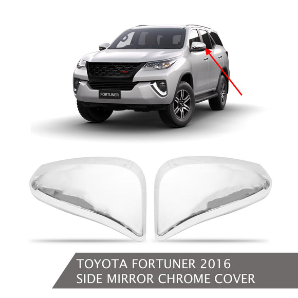 TOYOTA FORTUNER SIDE MIRROR COVER CHROME