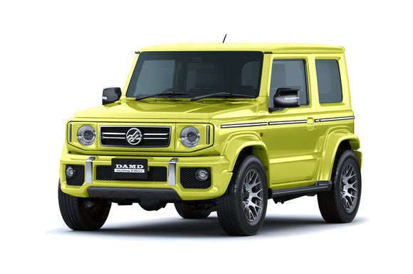 Damd Little G Suzuki Jimny Body Kit without wheels