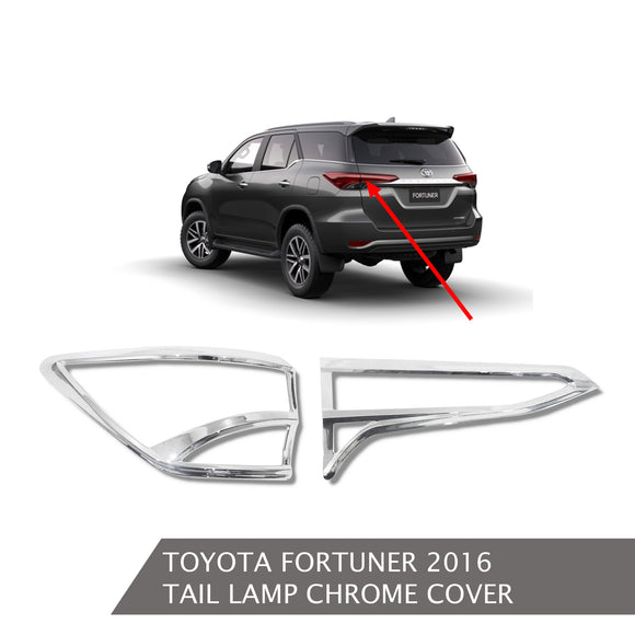 TOYOTA FORTUNER TAIL LAMP COVER CHROME