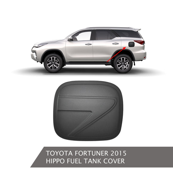 TOYOTA FORTUNER FUEL TANK COVER BLACK