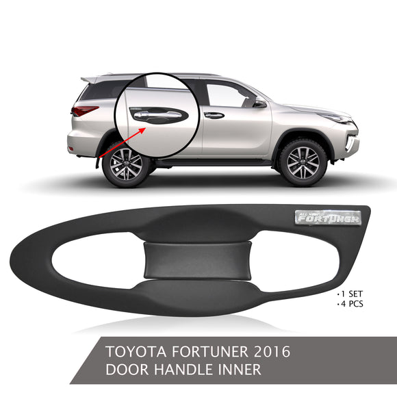 TOYOTA FORTUNER DOOR HANDLE INNER BLACK