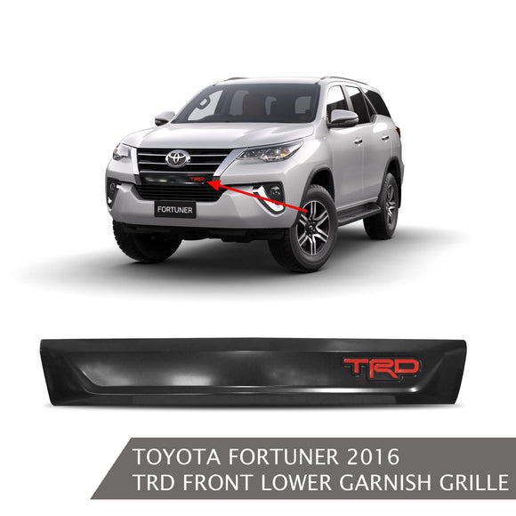 TOYOTA FORTUNER TRD FRONT LOWER GARNISH GRILLE