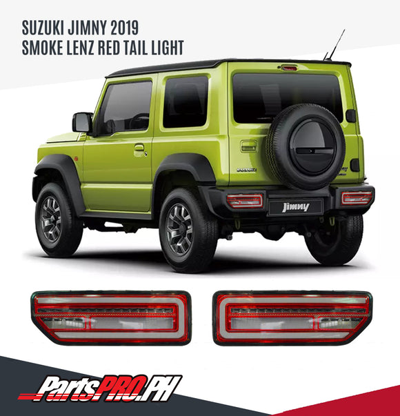 Clear Lens Red LED Tail lamp Sequential for Suzuki Jimny 2019