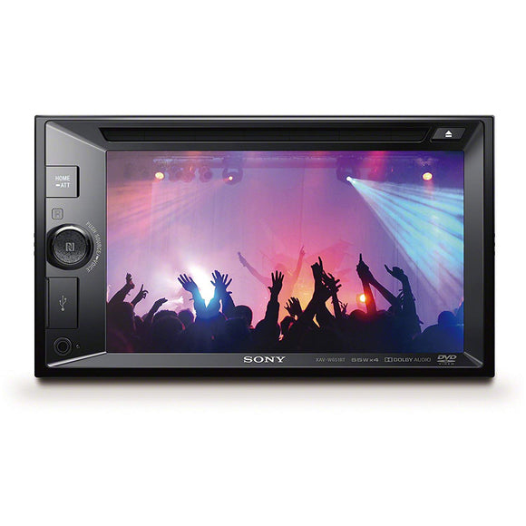 "SONY XAV-W651BT (6.2"") 15.7cm LCD DVD Receiver"