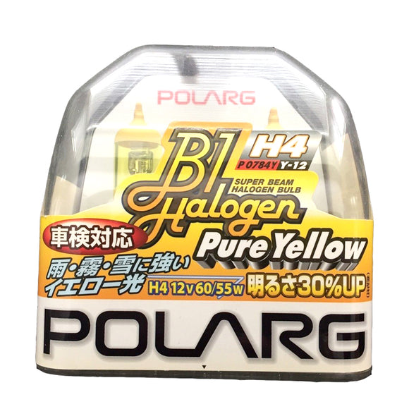 POLARG Halogen Bulb Pure Yellow (H4) Y-12