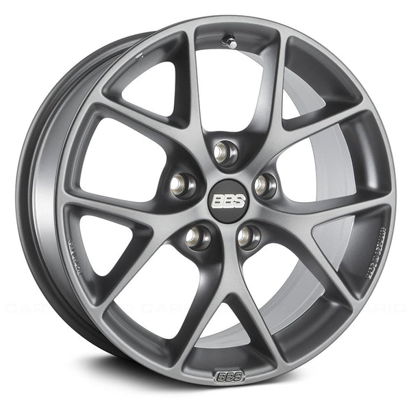 BBS WHEELS (GERMANY) SATIN HIMALAYA - GREY 8.0 x 18 (SR)