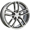 BBS WHEELS (GERMANY) PLATINUM SILVER/DIAMOND CUT 8.5 x 19 (SX)