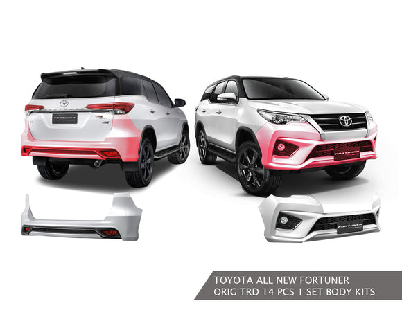 TOYOTA FORTUNER BODY KIT