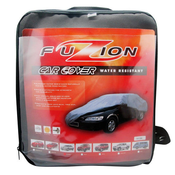 FUZION Car Cover Water Resistant (Medium)
