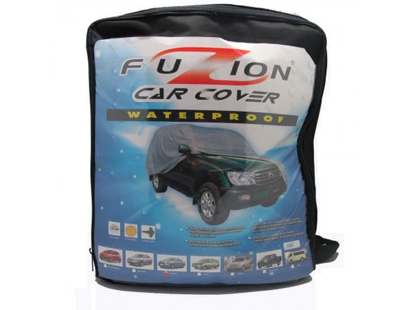FUZION Car Cover Water Proof (Medium)