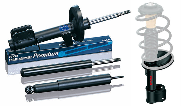 KYB Premium Shock Absorber Hyundai Excel, Accent 1300, 1500 (54661-22000) '94 - '97 Front RH