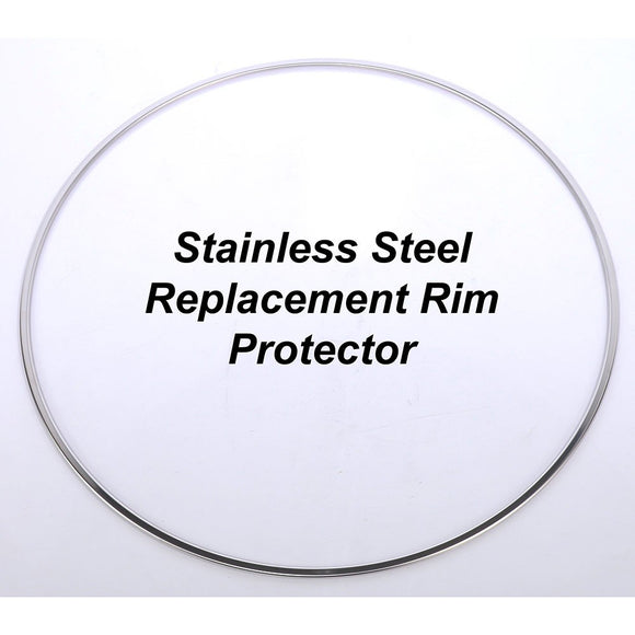 BBS RIM PROTECTOR STAINLESS STEEL POLISHED 20