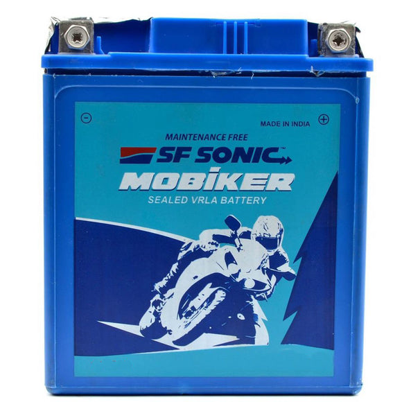 SF SONIC BATTERIES Exide Mobikers Dry EM2.5LC