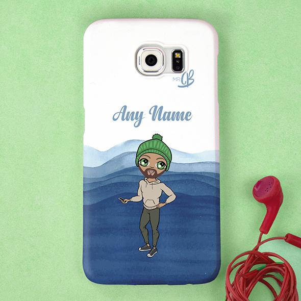 MrCB Personalized Waves Phone Case - Image 1