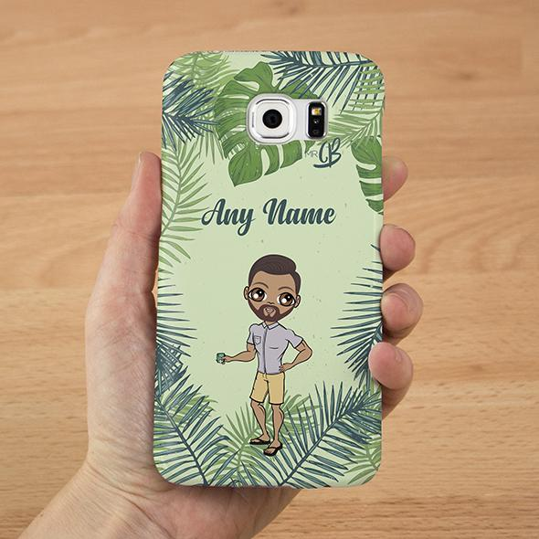 MrCB Personalized Tropical Phone Case - Image 0